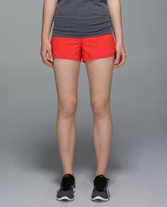 We made these shorts to keep us feeling comfortable and cool from training days to race day. A continuous drawcord is easy to cinch  mid-stride so we can streak past our personal records. Get up and get it!