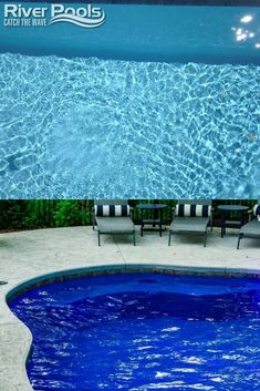 Fiberglass pool color options with pictures #fiberglasspools #ingroundpools #swimmingpoolideas Fiberglass Pool Installation, Fiberglass Swimming Pools, Pool Colors, Image Ready, In Ground Pools, Waterfalls, Shades Of Blue, Spa, Backyard