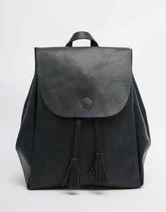 Imagen 1 de Mochila con diseño minimalista de New Look