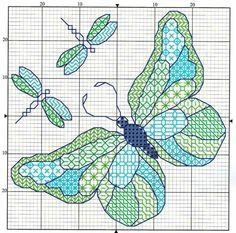 blackwork - Page 2 Butterfly Cross Stitch, Cross Stitch Bird, Cross Stitch Alphabet, Cross Stitch Animals, Cross Stitch Flowers, Cross Stitch Charts, Cross Stitch Designs, Cross Stitch Patterns, Butterfly Pattern