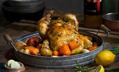 olivenolje Ratatouille, Chorizo, Tandoori Chicken, Nom Nom, Dinner Recipes, Food And Drink, Turkey, Ethnic Recipes, Maserati