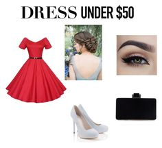 """""""Sin título #6"""" by aliss-15 on Polyvore featuring moda, Lipsy y Dressunder50"""