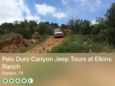 https://www.tripadvisor.com/Attraction_Review-g55580-d3194377-Reviews-Palo_Duro_Canyon_Jeep_Tours_at_Elkins_Ranch-Canyon_Texas.html?m=19904