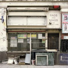 Golden Lane, Saint Luke's. Walks In London, Shop Fronts, Urban Decay, Abandoned, Facade, Walking, Interiors, Photography, Beauty