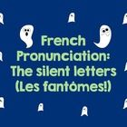 Bonjour-Hello - Kathryn Castro - Bonjour-Hello French pronunciation can be so confusing! Highlight those silent letters (les fantômes) with this fun explanation (a lesson explanation), a . French Teacher, Teaching French, Grade 1, French Conversation, High School French, French Education, French Expressions, French Grammar, Core French