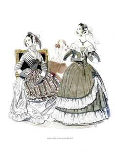 May 1840 Godey's Lady's Book Fashion