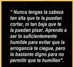 Arrogancia vs humildad