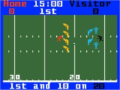 Intellivision football