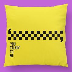 Taxi Driver Pillow. 🎬 #zizimut #funnytshirts #tshirts #hoodies #sweatshirt #giftshops #personalizedgifts #personalizadas #porto🇵🇹 #tshirtshop #taxidriver #scorcese #deniro #movies #cinema #almofadas #pillows