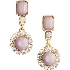 H&M Earrings (21 RON) found on Polyvore featuring women's fashion, jewelry, earrings, reign, light pink, beads jewellery, beaded earrings, h&m earrings, plastic earrings and beaded jewelry