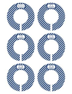 FINISHED PRODUCT Baby Closet Dividers Baby Shower by SeeMeGrowUp, $12.50