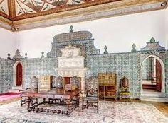 Interior do Palácio Nacional de Sintra: Sala das Pegas