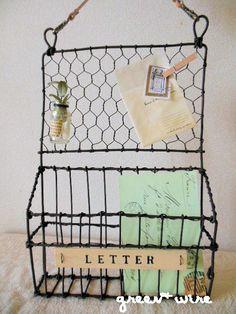 7 月のワイヤークラフトレッスンの画像:green + wire