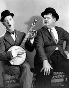 Laurel and Hardy my favorite comedy duo of all time!