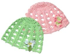 "Free pattern for this pretty ""Vintage Rose Cap""!..another hat for spring"