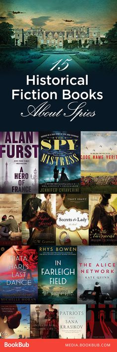 15 must-read historical fiction books. From the Tudors to World War II, these reads are full of intrigue and suspense.