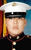 Marine Lance Cpl. Victor R. Lu Died November 13, 2004 Serving During Operation Iraqi Freedom 22, of Los Angeles; assigned to 3rd Battalion, 5th Marine Regiment, 1st Marine Division, I Marine Expeditionary Force, Marine Corps Base Camp Pendleton, Calif.; killed Nov. 13 by enemy action in Anbar province, Iraq.