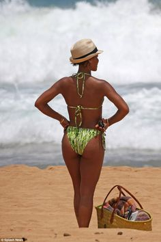 Ship-shape: Jada can currently be seen as the emcee Rome/Mike's ex-flame in Magic Mike XXL...
