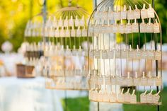 Birdcage Escort Cards