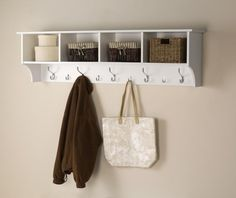 "60"" Wide Hanging Entryway Shelf 