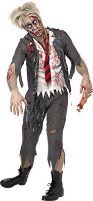 Smiffys Mens High School Horror Zombie Schoolboy Costume Tag a friend who can pull this off! #Zombie #Halloween #Costume