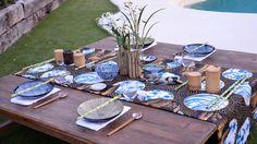 Dale un toque asiático a tu mesa con una decoración oriental de Laura Caldarola…