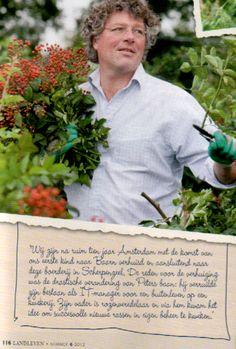 Het verhaal van rozenbottelkweker Peter van de Pol uit Scherpenzeel. Een publicatie uit Landleven, 2012.