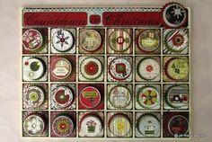 Paper & tins advent calendar