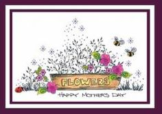 Flower Box Mother's Day Card