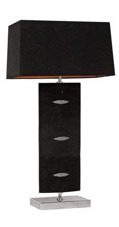 Luxury Designer Black Shagreen Table Lamp, Sharing Luxury Designer Home  Decor Inspirations And Ideas For