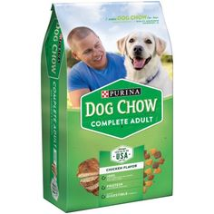 Purina Dog Chow Complete Food 4 Lb Bag Green Best