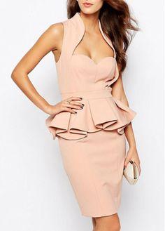 Flouncing Design Sleeveless High Waist Dress on sale only US$25.96 now, buy cheap Flouncing Design Sleeveless High Waist Dress at modlily.com
