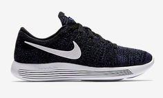reputable site 1d04c 6d2db Size 11.5 Nike LunarEpic Flyknit Low Release womens black white dark purple  Boys Nike, Running