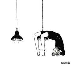 Henn Kim - I'm gonna swing from the chandelier I'm gonna fly like a bird through the night,  feel my tears as they dry