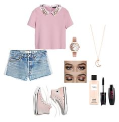 """""""Untitled #338"""" by xolafkax on Polyvore featuring Max&Co., RE/DONE, Madewell, Victoria's Secret, Olivia Burton and Full Tilt"""