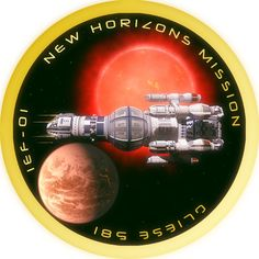 New Horizons Mission Patch