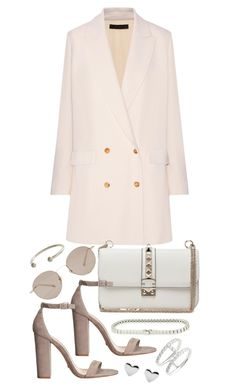 """""""Untitled #20214"""" by florencia95 ❤ liked on Polyvore featuring The Row, Valentino, Gucci, Cartier and Bony Levy"""