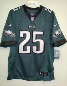 1fec2db22c6d38 NEW Nike Philadelphia Eagles Home On Field Football Jersey Mens Medium M  SEWN
