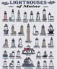 Maine Lighthouses. More than 60 lighthouses dot the Maine coast .