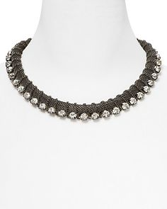"""RJ Graziano Chunky Crystal Collar Necklace, 14"""" -  Bloomingdale's, $85.00"""
