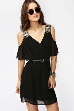NASTYGAL - Total Stud Dress