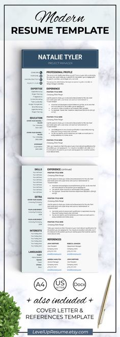 Pin by Picshy Photoshop Resource on Template Pinterest Resume