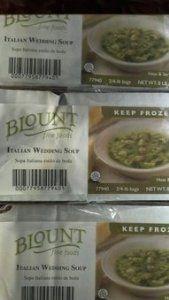 Blount: Italian Wedding Soup 2/4 Lb.