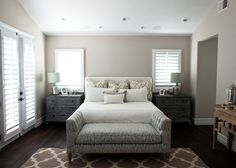 perfect master bedroom