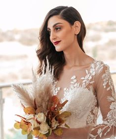 Bridal Bouquet Fall, Bridal Bouquets, Lace Wedding, Wedding Dresses, Thessaloniki, Congratulations, Autumn, Bride, Instagram