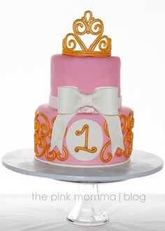 The Pink Momma: {Cake} Princess Theme