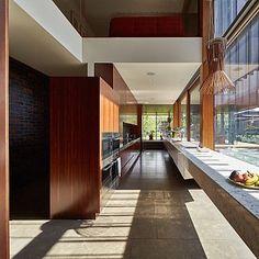 Pietra Bronzea Brushed Residential Flooring - John Wardle Architects - 4.jpg