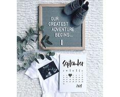 Due Date Reveal | Customized Printable Calendar | Pregnancy Announcement | Baby Announcement | Pregnancy Reveal | Customised Calendar