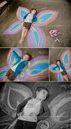 I want to try this with my granddaughter... I fancy myself as a photographer... so I think I can do this