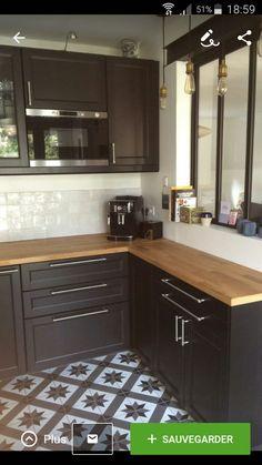 Kitchen Room Design, Kitchen Dinning, Home Decor Kitchen, Kitchen Interior, New Kitchen, Home Interior Design, Home Kitchens, Küchen Design, House Design